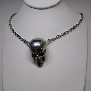 Skull Necklace Heavy Stainless Steel